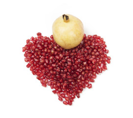 Heart pomegranate