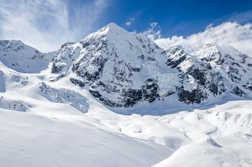 Bergmassiv Gletscher