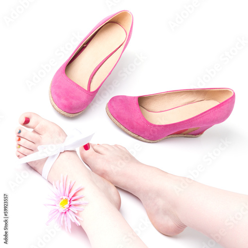 beautiful Feet and Shoes