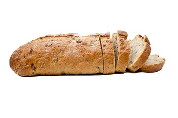 Fresh bread isolated