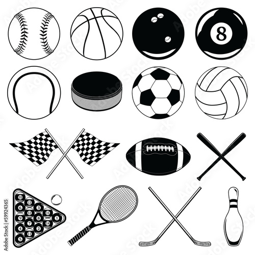 Sports Balls and Other Items