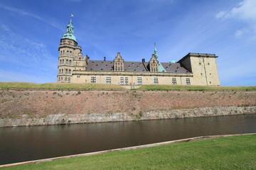 Danish castle in Helsingor, Denmark