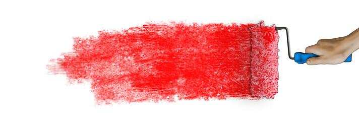 Paintbrush banner