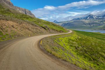 Icelandic landscape of Snaefellsnes Peninsula