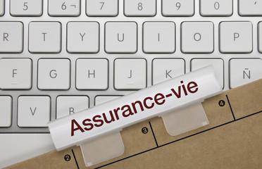 Assurance-vie. Clavier