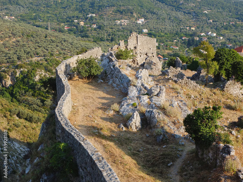 Stari Bar Fortress Ruins, Montenegro