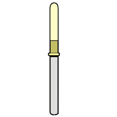 vector drawing of a pipette