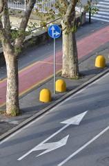 Tratto di strada urbano