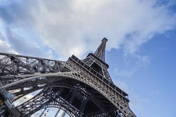 Torre Eiffel vista dal Pilone Nord
