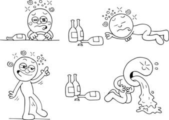 Drunk Man Set