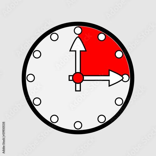 Zegarek kwadrans - 59930538