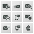 Email icons,vector