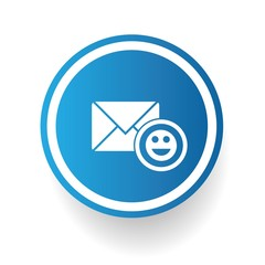 Smile email,vector