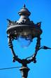 beautiful old street lamp