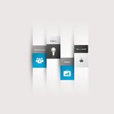 Fototapety Modern design minimal style infographics template line.