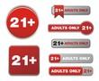 21 plus button sets