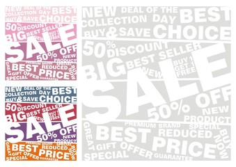 Big sale vector set