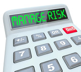 Manage Your Risk Calculator Financial Compliance Money Audit
