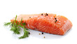 fresh raw salmon - 59934986