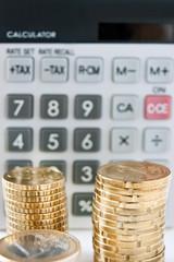 Taschenrechner und Euro