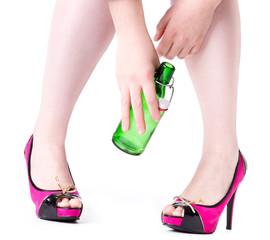 Heels Pink Alc