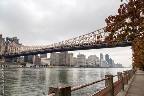 Foto op Plexiglas New York TAXI New York - Queensboro Bridge