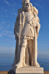 Juan Rodriguez Cabrillo statue in San Diego, California