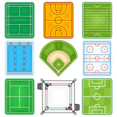 Sport Fields Icon