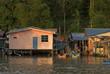 Fishing village, Kampung Salak, Borneo, Sarawak, Malaysia