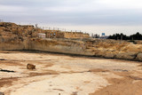 Ancient quarry  of Crusaders  near Jerusalem