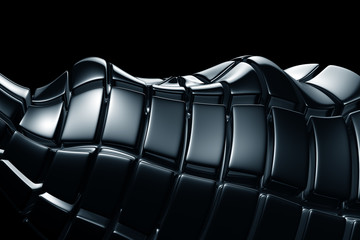 Luxury abstract metalic background
