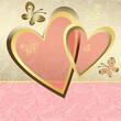 Gentle valentine frame
