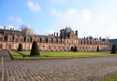 Palace of Fontainebleau,unesco world heritage, France