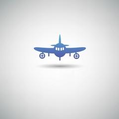 Airplane symbol,vector