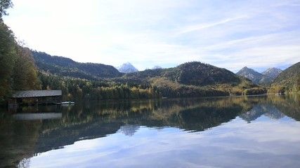 Alpsee in Fall
