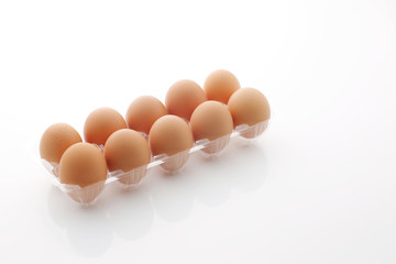パックの卵