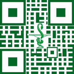 Pharmacie  -  Caducée - Flashcode