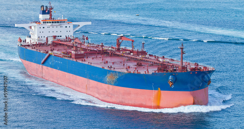 canvas print picture Tanker Ship