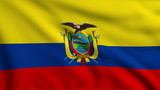 Flag of Ecuador looping
