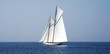Sailboat on sea