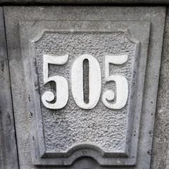 Number 505