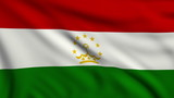 Flag of Tajikistan looping