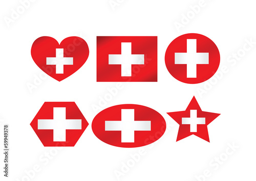 National flag of Switzerland