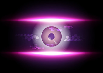 eyeball scaning technology