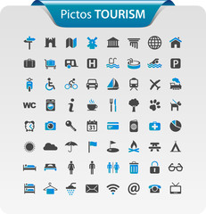 Pictogramme, icône tourisme