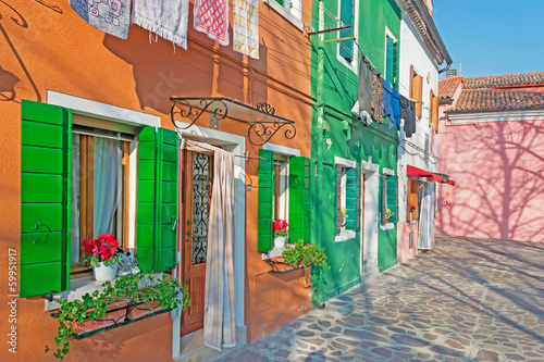 picturesque Burano corner