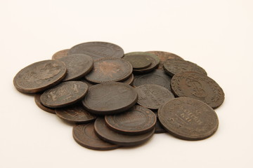 Russian copper coins
