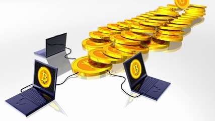 Bitcoin digital currency mining
