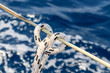 Sailboat rope detail