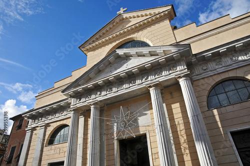 Foto op Canvas Milan Rapallo, Liguria, Basilica dei Santi Gervasio e Protasio: